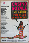 CASINO ROYALE Spanish movie poster 1977 Cool 60s art Peter Sellers James BOND