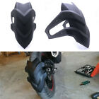 Motorcycle Rear Fender Plastic Mudguard Wheel Cover For Square Fork 14-18 Inch