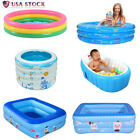 Inflatable Kiddie Pool Kid Swimming Pool Baby Foldable Bathtub Water Play Summer