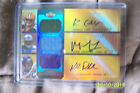 2011 Topps Randall Cobb Kyle Rudolph Mikel Leshoure Autographed Rookie Card