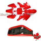 Plastic Fairing Body Kits Tall Foam Seat For Pit Bike Honda CRF50 50cc 160cc