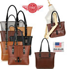 Women Leather Purses and Handbags Shoulder Hobo Messenger Crossbody Tote Bag TR