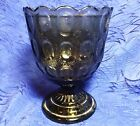 E.A.Brody Brown Glass Candy Dish Compote