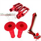 Footpegs Handle Grips Gear Shifter Lever For Chinese 50cc 160cc Pit Bike DHZ YX