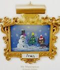 HALLMARK 2010 My Masterpiece Child's Artwork Display Frame Ornament NEW