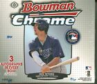 2013 Bowman Chrome Baseball - 1 HOBBY JUMBO BOX (Andujar RC Autos?) 3 Autos box