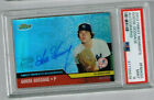 2002 FINEST MOMENTS #FMAGG YANKEES GOOSE GOSSAGE ON-CARD AUTO PSA MINT 9