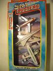 1996 Matchbox Skybusters 3pk Iberia Airlines Air France Concorde SST  Cessna 21