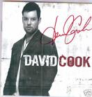 David Cook signed cd American Idol 2008 winner Kinky Boots