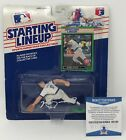 MARK GRACE Signed 1989 Kenner Starting Lineup FIGURE Chicago CUBS BECKETT COA