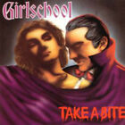GIRLSCHOOL - Take a Bite (Original Enigma Records NEW CD, 1988 ‎– 7 75406-2)