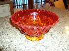 LE Smith Arberina Footed Moon and Stars Candy Dish Crimped Top Edge    ID:38825