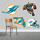 Miami Dolphins Wall Art 4 Piece Set Large Size  New in Box