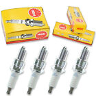 4pcs 01-11 Big Dog Pitbull NGK Standard Spark Plugs Kit Set Engine wa