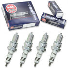 4pcs 90-98 Aprilia PEGASO 600 NGK Iridium IX Spark Plugs 600 Kit Set Engine wd