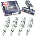 4pcs 92-96 Maico GS250 MC250 NGK Iridium IX Spark Plugs 250 Kit Set Engine wn