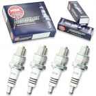 4pcs 02-03 Husqvarna WR50 NGK Iridium IX Spark Plugs 50 Kit Set Engine fl