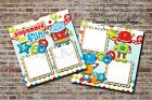 Robots Programmed For Fun 2 PRINTED Premade Scrapbook Pages BLJgraves 39