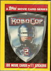 1990 Topps Robocop 2 Trading Cards 18