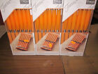 Fiesta Steak Knife Set Tangerine 6 pc stainless steel block Discontinued