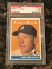 1958 Topps Mickey Mantle New York Yankees #150 Baseball Card PSA 5