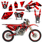 Honda CRF250X Dirt Bike Graphics Kit Decal Wrap Deco Stickers 2004-2016 REAP RED