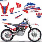 Decal Graphic Kit Honda CRF 230/150F Bike Stickers w/Backgrounds CRF150F 04-07 L