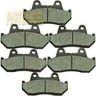Front Rear Carbon Brake Pads - 1982 HONDA GL 1100 I Goldwing Interstate