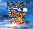 ICED EARTH - Alive In Athens 3 CD Set Live Original Recording