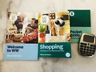 Weight Watchers Freestyle Welcome Book + Points Book + CALCULATOR + Pocket Guide