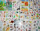 Mrs Grossman sticker 1 sheet Animals C You Choose