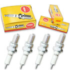 4pcs 90-98 Aprilia PEGASO 600 NGK Standard Spark Plugs 600 Kit Set Engine nn