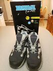 Womens Size 10 BRAHMA For Her AMY Work Shoes Sneakers Steel Toe Navy Gray