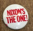 Experience Counts Nixon The One Political Button