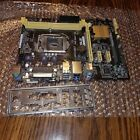 Asus H81M C CSM REV 102 DDR3 Motherboard WITH I O Shield