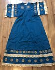 Vintage Opus 1 by Diana Martin Mexican Embroidered Dress One size fits all
