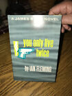 1964 YOU ONLY LIVE TWICE by Ian Fleming Book Club Edition James Bond 007 Novel