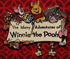 Disney The Many Adventures of Winnie the Pooh Dangle Logo w Bees Pin