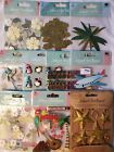 Pick 1 Jolees Boutique Dimensional Scrapbook Stickers Holiday Travel Beach