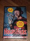 1988 Topps FRIGHT FLICKS Wax Box Non X-Out BBCE Wrapped