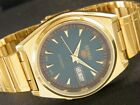 VINTAGE UNUSED SEIKO 5 7009 AUTOMATIC JAPAN MENS SEE THROUGH WATCH 218-a123586-5