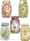 10 EASTER SPRING PETER RABBIT MASON HANG GIFT TAGS FOR SCRAPBOOK PAGES 15