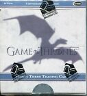 Game Of Thrones Season 4 Factory Sealed Trading Card Hobby Box