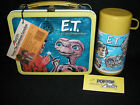 1982 ET Lunch Box  Thermos  Vintage  Lunchbox  Unused Nr Mint Tags ET