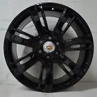 Set of 4 Wheels 22 inch Gloss Black Rims fits Cadillac Escalade EXT 2011