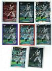 Ichiro Suzuki 2011 Topps Chrome Rainbow Black Purple Sepia Refractor Lot of 8