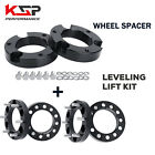4x1 Wheel Spacers +3 Front Lift Kits For 2005 2015 Tacoma 2WD 4WD FJ Cruise