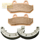 F+R Sintered Brake Pad shoes 1987-1994 1989 1990 1991 92 HONDA VT 1100 C Shadow