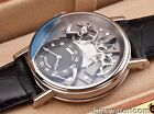 BREGUET TRADITION MANUAL WIND 40MM 18K WHITE GOLD 7057BB/G9/9W6 MENS WATCH