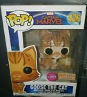 Funko Pop! Captain Marvel - Goose the Cat *Flocked Boxlunch Exclusive* MINT